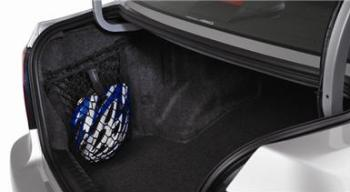 Subaru WRX STi Sedan only Rear Side Cargo Area Nets - One pair