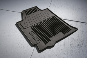 Floor Mats, All Season Rubber - Nissan (999E1-UUC10BK)