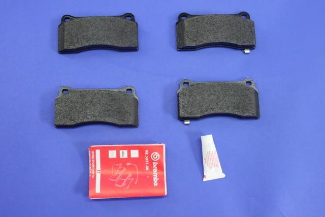 Brake Pads, Front, Front Rear, Rear Front, Rear