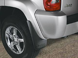 Deluxe Molded Splash Guards REAR Liberty 2002-2007