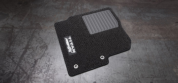 Floor Mats, Carpet, 3pc - nissan (999E2-W5001)