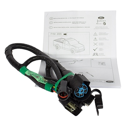 2015 ford f 150 trailer wiring harness 2005 ford f-150 trailer hitch, wiring harness adapter 5l3z ...