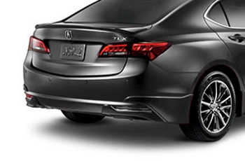 Spoiler, Rear Under-body, Graphite Luster Metallic - Acura (08F03-TZ3-220)