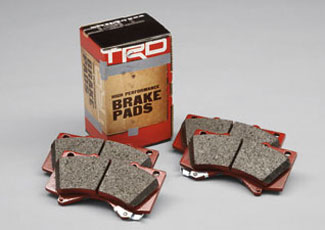 TRD Performance Brake Pads Rear