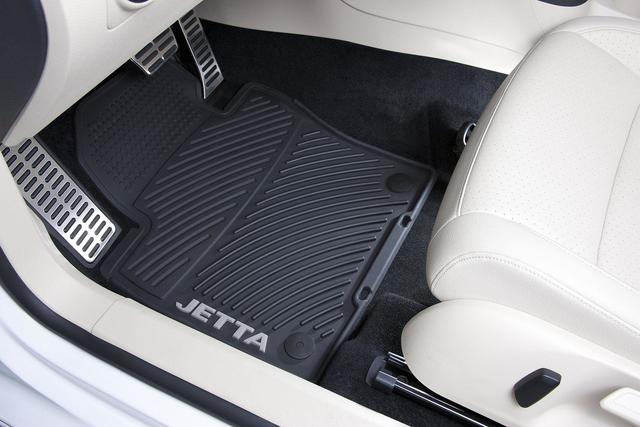 Monster Mat Rubber Floor Mats, Tdi - Volkswagen (1KM-061-550-HA-041)