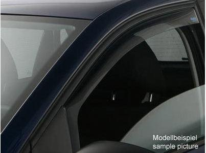 Side Window Deflectors - Front (2 door) - Smoke - Volkswagen (5K3-072-193-HU3)