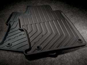 All Season Floor Mats - Sedan