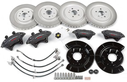 Gen 5 Camaro Ss Brake Upgrade Kit For Camaro V-6
