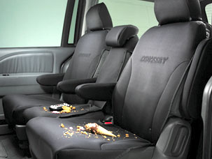 2ND Row Seat Cover (Black)