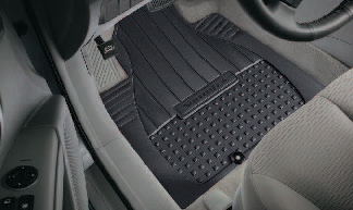 Floor Mats, All Weather Third Row - Hyundai (00281-77002)