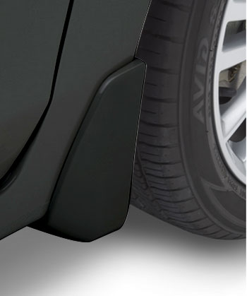 Splash Guards 4 Dr- Crystal Black Silica