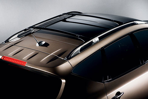 Roof Rail Crossbars, Black - Nissan (999R1-XZ550)