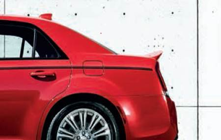 Rear Spoiler - Srt Design - Mopar (82214039)