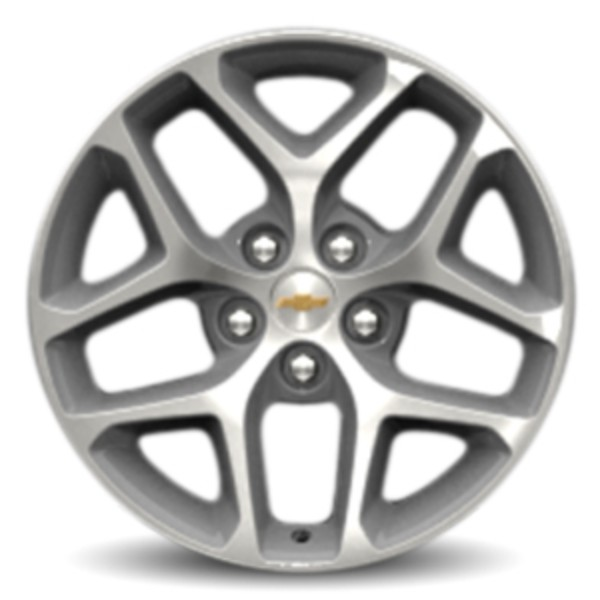 "18"" Wheel, Chrome, 5 Split-Spoke"