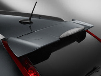 Spoiler, Tailgate *NH737M* (Polished Metal Metallic)