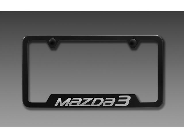 License Plate Frame, MAZDA3 Logo
