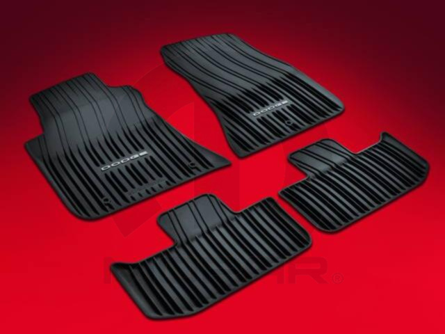 All Weather Floor Mats - Dark Slate Gray - Mopar (82212545AB)