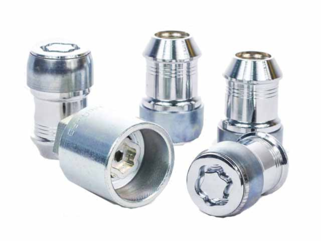 Wheel Lock - Chrome - Exposed Lug Nuts