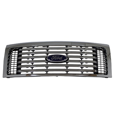 Grille Insert, Billet Chrome - Ford (CL3Z-8200-CB)