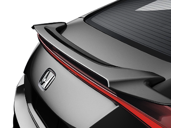 Rear Wing Spoiler (Crystal Black Pearl - NH731P) - Honda (08F13-TBG-110)