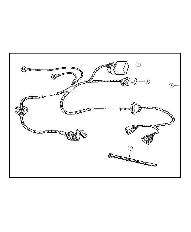 hitch -wire harness 4 way