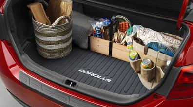 Corolla All-Weather Cargo Tray | 2014-2019 Corolla Sedan - Toyota (PT908-02145)
