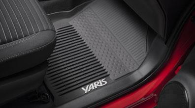 Yaris All Weather Mats Tub Style - Toyota (PT908-52171-02)