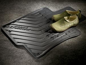 10'-15' HONDA CROSSTOUR  All-Season Floor Mats (4WD) - Honda (08P13-TP7-111)