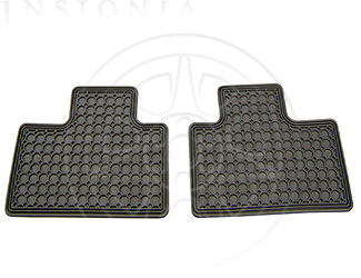 Floor Mats, All Weather, Rear - GM (12499086)