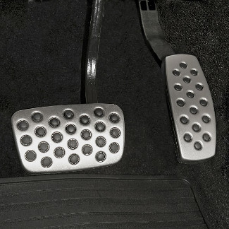 Sport Pedal Kit - Brake, Accelerator And Clutch Pedal Cover