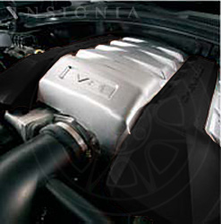 V8 Engine Cover Black