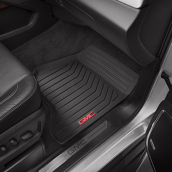GMC Acadia Floor Liners, All-Weather, Front