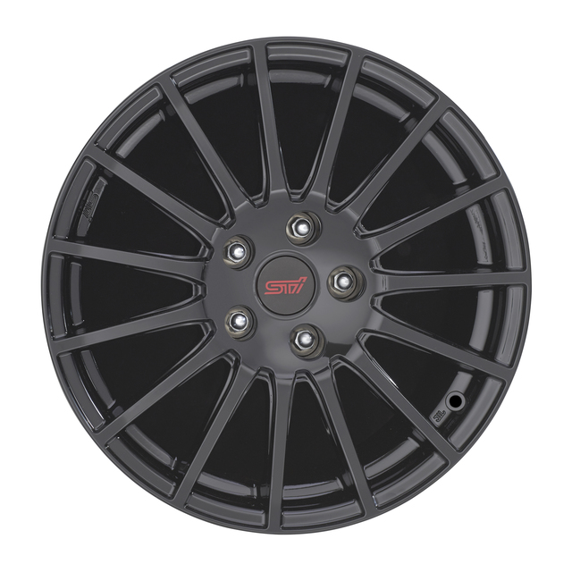 "17"", Wheel Sti Black Alloy"