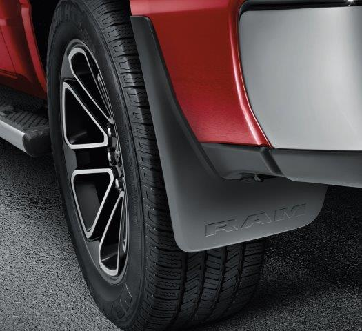 Molded Splash Guards, Rear