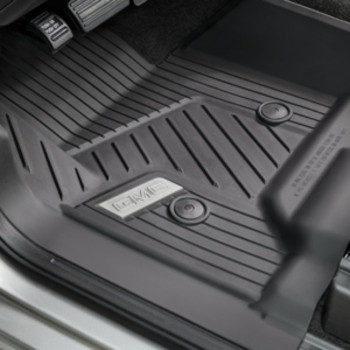 Floor Liners, All-Weather BLACK