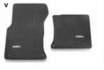 Floor Mats, Rubber, Awd - Jaguar (T2H7743-FP)