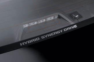 Graphics, Window, Hybrid Synergy Drive Logo