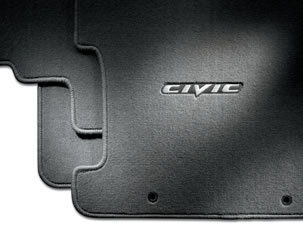 Floor Mats, Carpet (2-door models only) - Honda (08P15-SVA-120A)