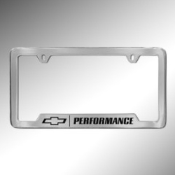 License Plate Frame, Performance, Chrome