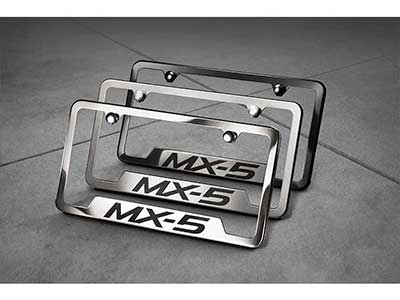 License Plate Frame, Slimline