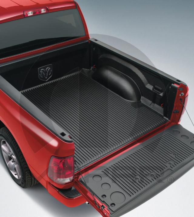 Dodge Ram Bed Mat: Mopar (82214983AC