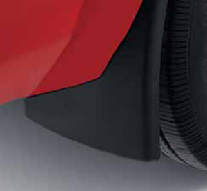 Splash Guards, Molded, Rear - Ford (5R3Z-16A550-AA)