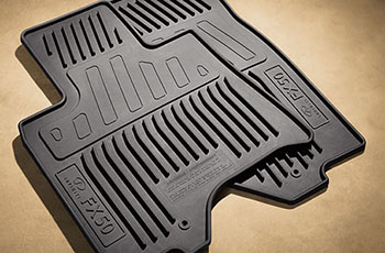 Floor Mats, All Weather, Almond - Infiniti (999E1-EZ001)