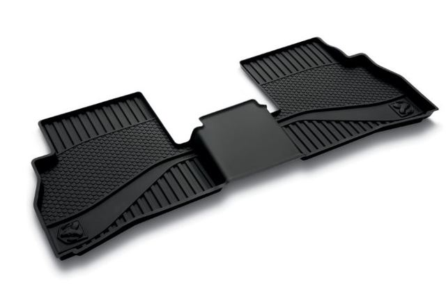 All-Weather Floor Mats - Black- Second Row
