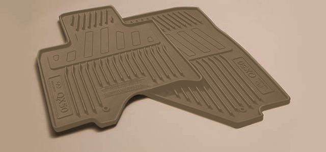 Floor Mats, All Weather Beige