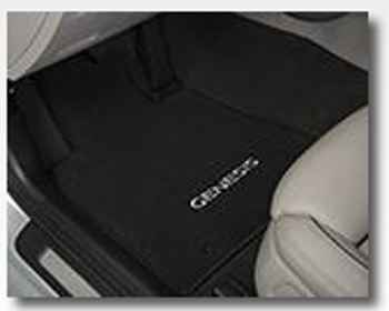Oceanids Black Awdfloor Mats, Carpeted