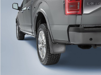 Splash Guards, Rear, Molded - Ford (FL3Z-16A550-DA)