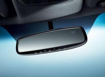Mirror, Auto Dimming W/ Compass