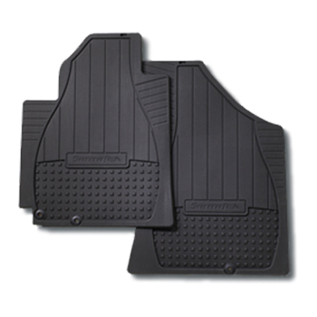 Floor Mats, All Weather Front - Hyundai (2B014-ADU00)