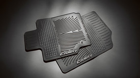 2PC All Weather Mats Black Cam